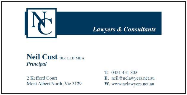 Neil Cust Lawyers