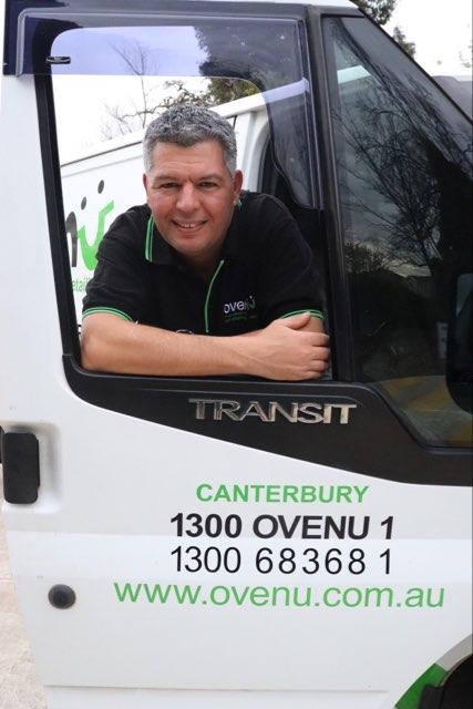 Serge with van door